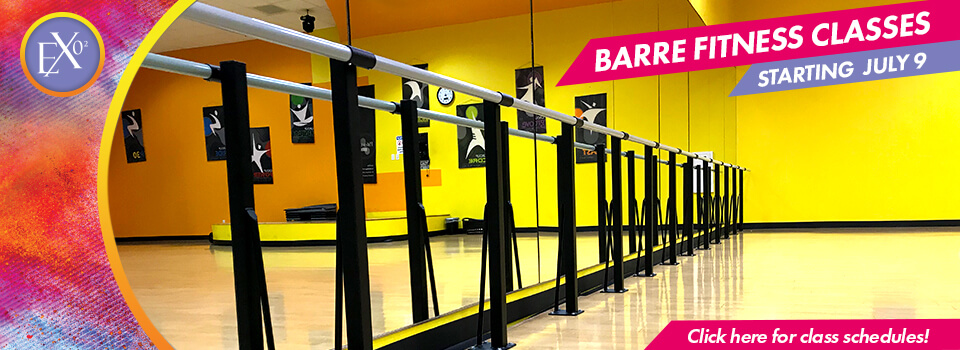 Barre Fitness Classes Starting July 9